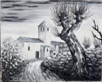 Eglise de Chalus dans le Puy de Dôme 2