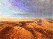 tableau paysages tableau monochrome ,m auvergne puy de dome unesco : Chaîne des Puys 23
