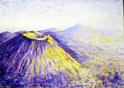 tableau paysages auvergne puy de dome chaine des puys patrimoine mondial : Chaîne des Puys 12