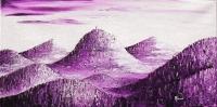 Chaîne des Puys Violette - Vue d'artiste