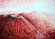tableau paysages volcan auvergne chaine des puys puy de dome : Chaîne des Puys 14