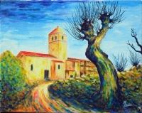 Eglise de Chalus dans le Puy de Dôme - 3 -