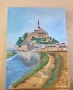 tableau paysages saint michel normandie bretagne mont : Le Mont Saint Michel