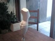 sculpture abstrait corps femme sculpture pierre : BELLISSIMA