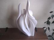 sculpture nature morte corps plante sculpture pierre : la plante