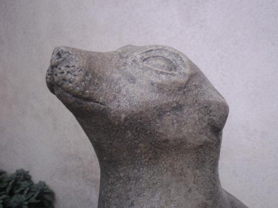 SCULPTURE otarie animaux sculpture pierre Animaux Taille Pierre  - otarie