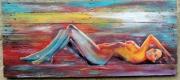 autres nus nus bois multicolore sirene : Juste avant de devenir une sirène