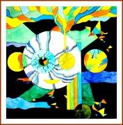 autres abstrait aquarelle abstrait oeil vitesse : ABSTRACTION 1