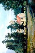 tableau paysages normandie france paysage chateau : PAYSAGE