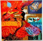 tableau personnages couleurs feutres questionnement raconter une histoir : la sainte trinité ......et moi?