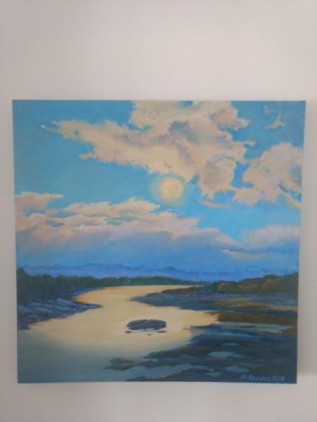 TABLEAU PEINTURE Altaï Paysages Peinture a l'huile  - Altaï