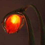 photo villes lampe metro art nouveau hector guimard : Lampe métro Art nouveau