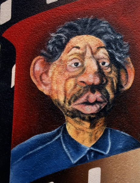 PHOTO Gainsbourg Villes  - Serge Gainsbourg