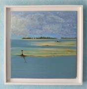tableau paysages paysage mer ocean ile : Pen Bron
