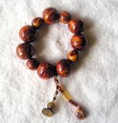 artisanat dart autres bracelet breloques piece unique swarovski : bracelet breloque