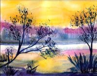 1 paysage en bord d'eau 09