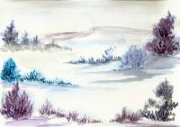 paysage de neige a 09