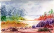 tableau paysages authenticite drouot pigments fins originale : paysage a 09