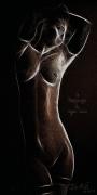 art numerique nus erotisme femme nudite beaute : La danseuse du Cayo-Coco
