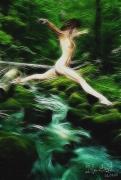 art numerique autres erotisme femme nudite beaute : A gué