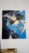 tableau personnages silica sao manga bombe : Silica sao