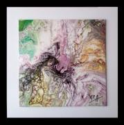 tableau abstrait tableau abstrait tableau moderne colo toile abstraite peintre de provence : Un jour ailleurs