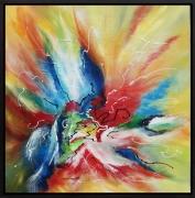 tableau abstrait tableau abstrait col tableau moderne colo art abstrait peintre de provence : Douce puissance