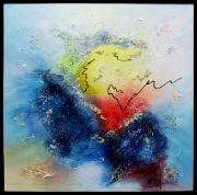 tableau abstrait tableau abstrait tableau moderne colo art abstrait peintre de provence : Au delà du silence
