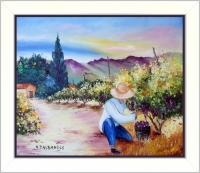La cueillette du raisin