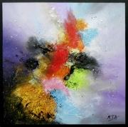 tableau abstrait tableau abstrait tableau colore moder peinture abstraite art abstrait : Regards différents