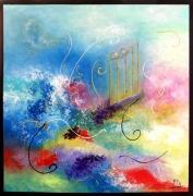 tableau abstrait tableaux modernes co art abstrait tableau abstrait peinture abstraite : Ouverture sur l'avenir