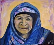 tableau personnages : Vieille femme Nubienne