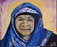 Vieille femme Nubienne