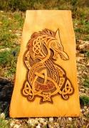 sculpture fenrir amaroksculptures mythologie nordique vikingart : FENRIR