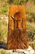 sculpture personnages woodspirit celticart woodcarvingart joeamarok : ESPRITS DE LA FORET