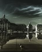 photo villes bordeaux miroir d'eau reflet france : Bordeaux