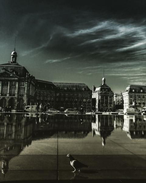 PHOTO Bordeaux Miroir d'eau Reflet France Villes  - Bordeaux