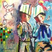 tableau personnages enfants freres guerre 40 joseph joffo : Portrait