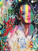tableau personnages artiste portraits legende star : Marion Cotillard