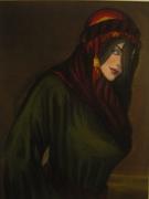 tableau personnages femme moyenorient : liberté