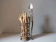 sculpture personnages fer bois sculpture decoration : Sculpture métal et bois flotté, création unique, décoration