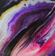 tableau abstrait : Galaxie