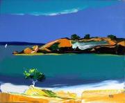 tableau paysages : la plage