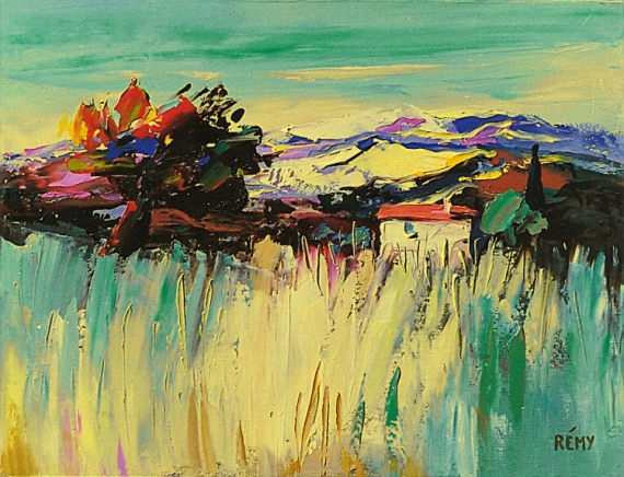 PAINTING Paysages  - herbes sauvages