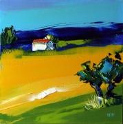 tableau paysages : champs de colza