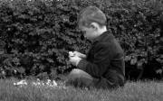 photo personnages fleur enfant jardin paris : Fleur de l'âge