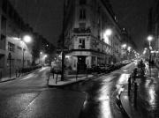 photo villes montmartre neige hiver paris : Montmartre en hiver