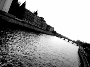 photo villes paris seine eau : La seine