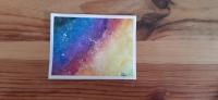 Galaxie colorée