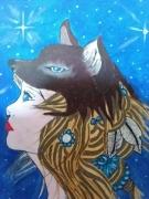 tableau personnages : la femme loup